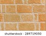 Orange Cliff Face