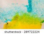abstract watercolor macro...   Shutterstock . vector #289722224