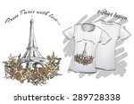 design t shirts for printing  a ... | Shutterstock .eps vector #289728338