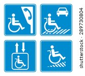 Disabled Person Warning Sign ...