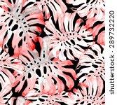 watercolor seamless pattern... | Shutterstock . vector #289732220