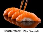 Classic Sushi With Salmon