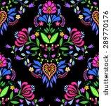 seamless folk pattern. vector.  ... | Shutterstock .eps vector #289770176