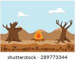 drought | Shutterstock .eps vector #289773344