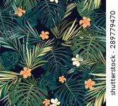 summer colorful hawaiian... | Shutterstock . vector #289779470