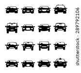 cars icons vector | Shutterstock .eps vector #289792106