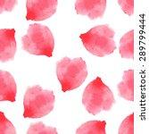 seamless pattern  petals of...   Shutterstock .eps vector #289799444