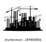 vector sign. construction. | Shutterstock .eps vector #289800806