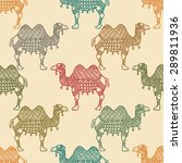 seamless vector pattern with... | Shutterstock .eps vector #289811936