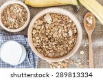 cereals and milk healthy... | Shutterstock . vector #289813334