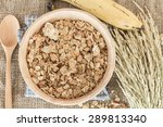 cereals and milk healthy... | Shutterstock . vector #289813340