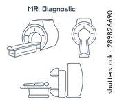 mri diagnostic vector icons   Shutterstock .eps vector #289826690
