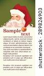 santa claus image in cartoon... | Shutterstock .eps vector #289826903
