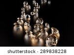 jewelry diamond collection on... | Shutterstock . vector #289838228