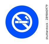 no smoke icon. stop smoking...