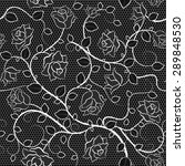 lace seamless pattern with... | Shutterstock . vector #289848530