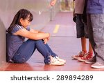 chinese female student victim... | Shutterstock . vector #289894289