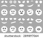 tool  gear  smile  emotion... | Shutterstock .eps vector #289897064