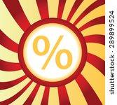 yellow icon with percent symbol ...