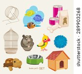 some cute vector stuff for pets | Shutterstock .eps vector #289903268