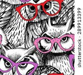 Seamless Pattern With The Image ...