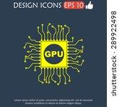circuit board  icon. technology ...