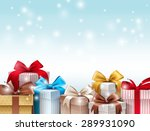 realistic 3d collection of... | Shutterstock .eps vector #289931090