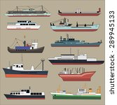 industrial  various cargo ... | Shutterstock .eps vector #289945133