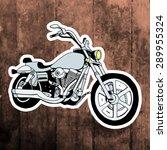 pop art stickers set. hand... | Shutterstock .eps vector #289955324