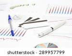 business still life of a credit ... | Shutterstock . vector #289957799