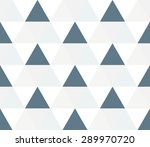 triangular background. seamless ... | Shutterstock .eps vector #289970720