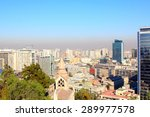 santiago de chile  panoramic... | Shutterstock . vector #289977578
