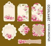 set of tags   Shutterstock .eps vector #289978520