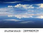 salar de uyuni is largest salt... | Shutterstock . vector #289980929
