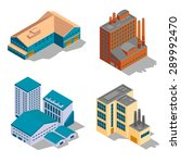 isometric factory and... | Shutterstock .eps vector #289992470