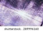 abstract symmetrical science... | Shutterstock . vector #289996160