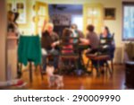 blurred image of typical... | Shutterstock . vector #290009990