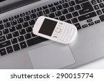 mobile phone  telephone ... | Shutterstock . vector #290015774