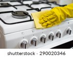 oven cleaning | Shutterstock . vector #290020346