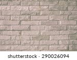 close up of a brick wall ... | Shutterstock . vector #290026094