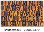 background of vintage... | Shutterstock . vector #290038370