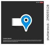 map pointer icon   gps location ...