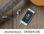 june 23  2015  blogger is a...   Shutterstock . vector #290069138