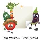 illustration of cartoon... | Shutterstock .eps vector #290073593