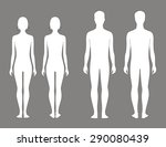 illustration of male and female ... | Shutterstock . vector #290080439
