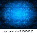 Dark Blue Color Light Abstract...