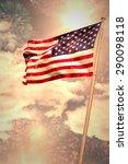 digitally generated american... | Shutterstock . vector #290098118