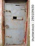 prison gate. historical sinop... | Shutterstock . vector #290109650
