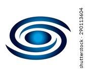 spiral galaxy  space  universe | Shutterstock .eps vector #290113604