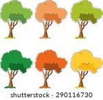 vector tree | Shutterstock .eps vector #290116730